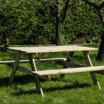 Beste Prijsshop Picknicktafel Grenen Basic 150