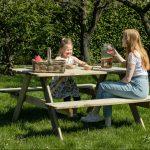 Beste Prijsshop Picknicktafel Grenen Solid 180 Picknicktafel Grenen Basic 150 gezin