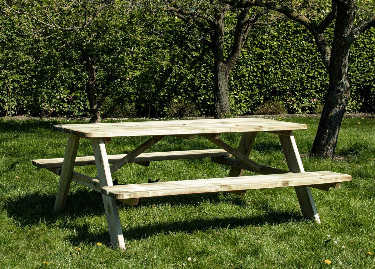 Beste Prijsshop Picknicktafel Grenen Solid 180