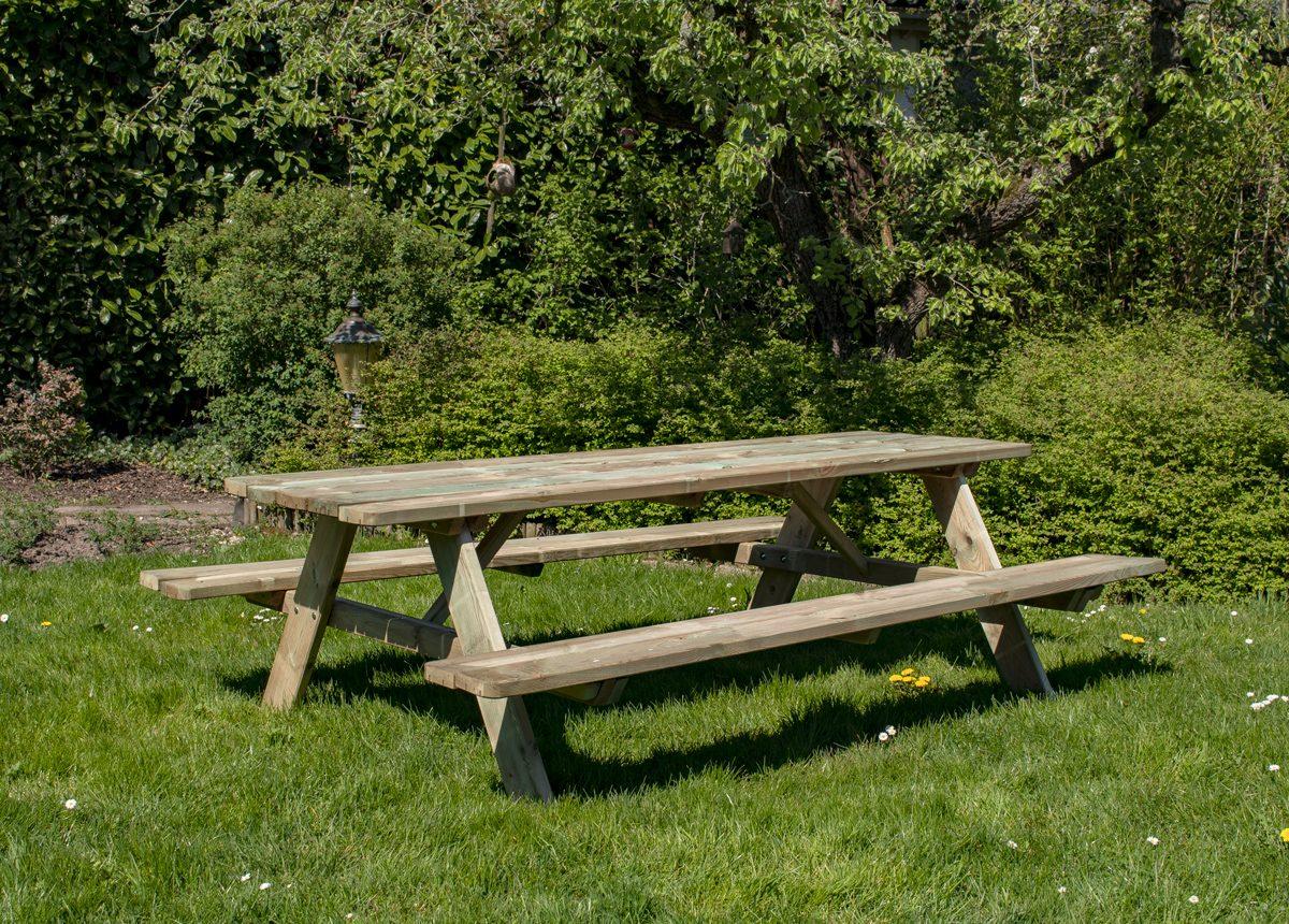 Beste Prijsshop Picknicktafel Grenen Solid 240